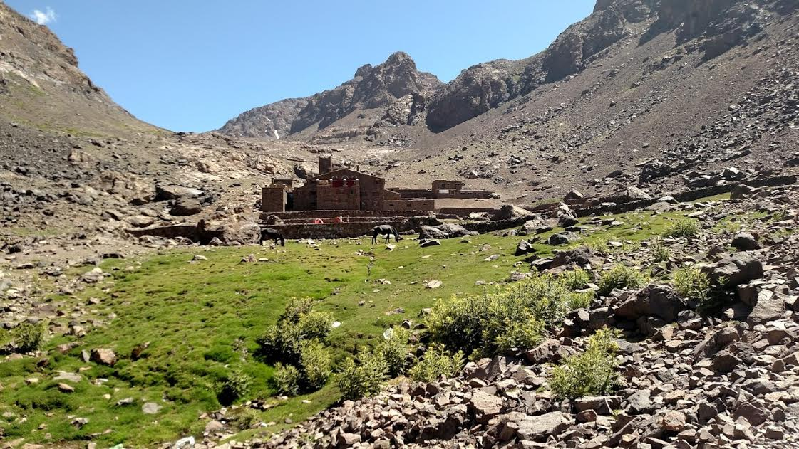the Refuge du Toubkal