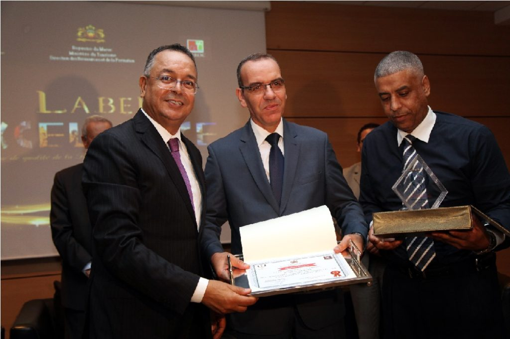 5 Institutions of Vocational Training & Tourism Win First Prize for Excellence in Morocco