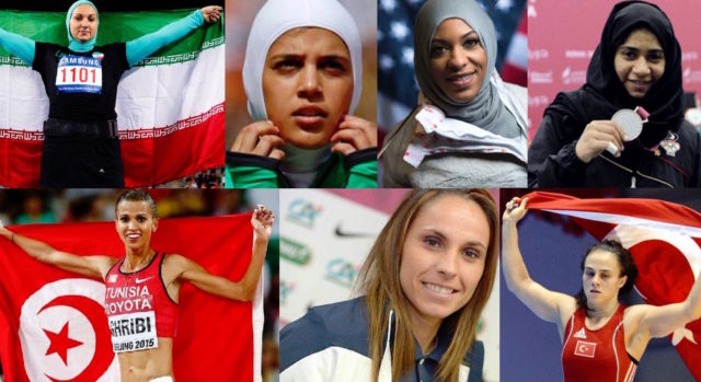 7 Female Muslim Athletes Who Will Shock Stereotypes at the Olympics