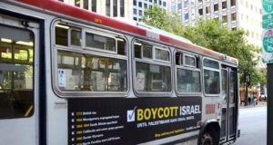 Anti-Israel Bus Ad Goes up in San Francisco