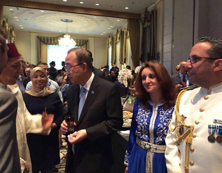 Ban Ki-moon Attends Morocco's Throne Day Reception in New York ...