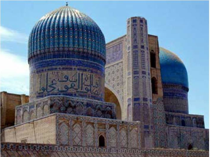 Bibi Khanum mosque in Uzbekistan (Photo credit: Manzaratourism.com)