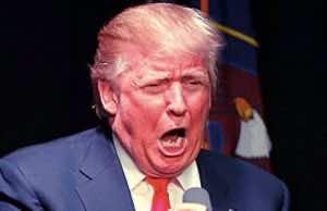 Trump in his usual rage (photo credit: winningdemocrats.com)