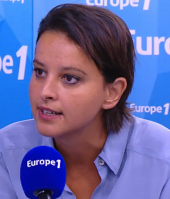 France's Minister of Education, Najat Vallaud Belkacem