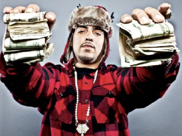 French Montana Distributes Money in Casablanca