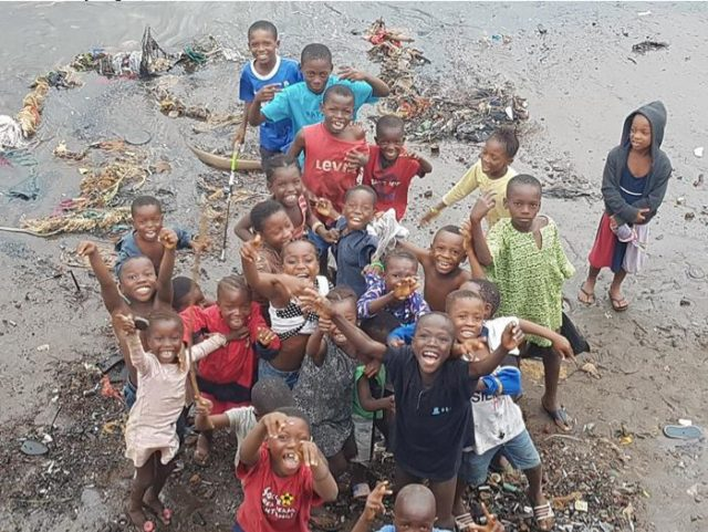 Happy Kids in Freetown, capital city of Sierra Leone