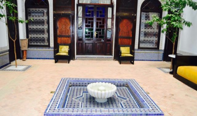 Hotel and Riad in Fez, Morocco