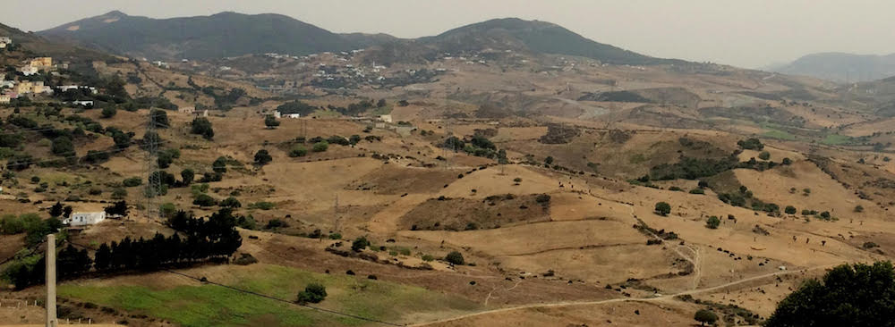 Late in the day: Anjera and Rif Mountains