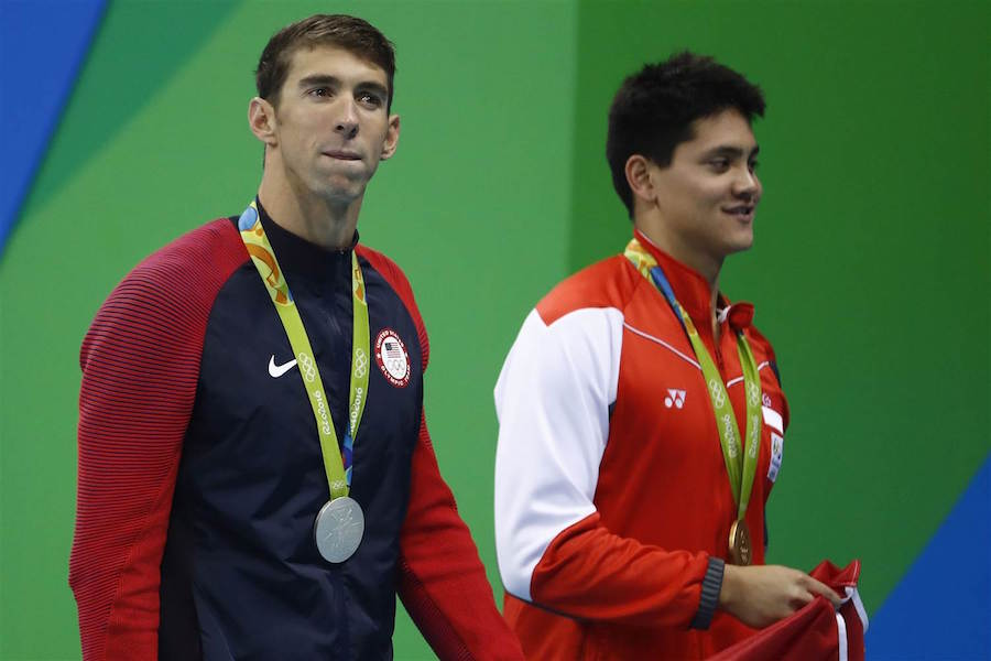 Michael Phelps Beat by His Fan