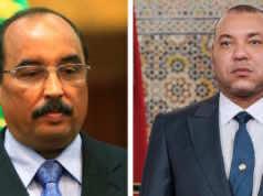 Mohamed Ould Abdel Aziz with King Mohammed VI
