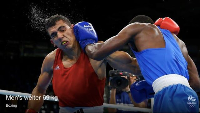 Moroccan Boxer Mohammed Rabii Qualifies to Quarterfinals