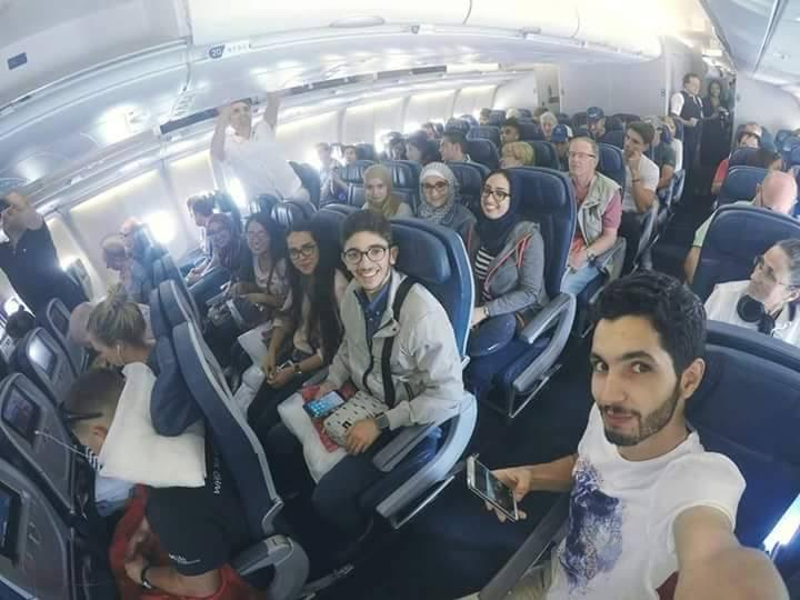 Moroccan Team Leaves for Space Camp in the US.
