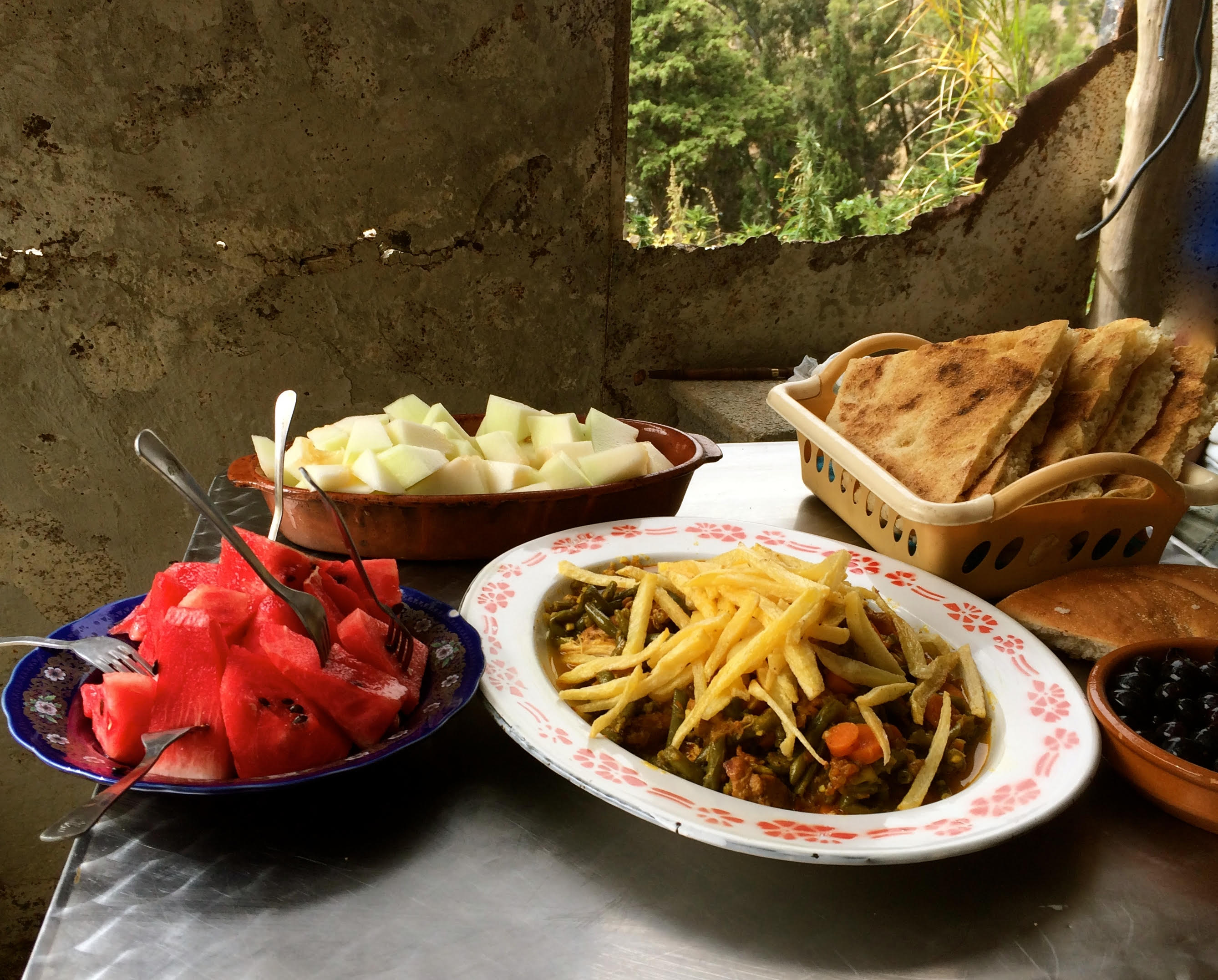 Moroccan meal. Our meal by Khadija