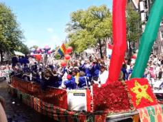 Moroccans Participate In Amsterdam's Gay Pride Parade