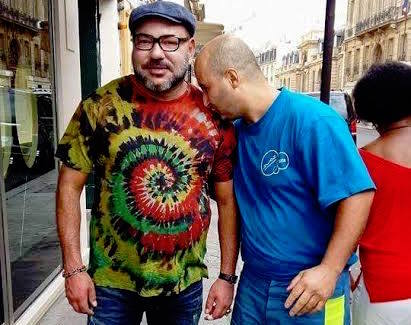 Photo of King Mohammed VI With Moroccan cleaner in Paris Goes Viral