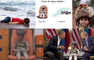 Pictures Epitomizing the Predicament of the Syrian People