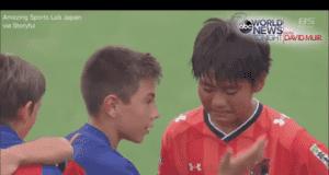 Pre-Teen Football Championship: Winner's Act of Sportsmanship