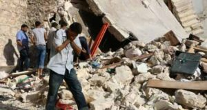 Rebel shelling kills 28 civilians in Syria's Aleppo