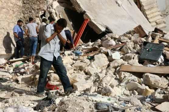 Rebel shelling kills 28 civilians in Syria's Aleppo