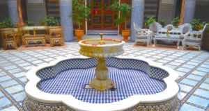 Riad in Rabat, Morocco
