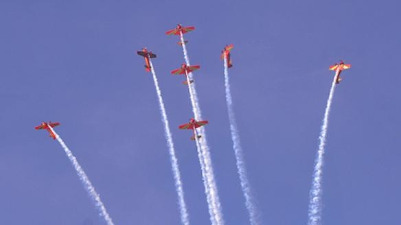 Throne Day: Royal Air Force Organizes Airplane Show in Northern Morocco July 30-31