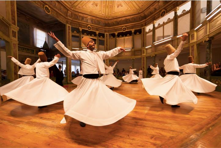Sufi Whirling Dervishes of Turkey: a mystic call for harmony, love and understanding (Photo credit: Flicker.com)
