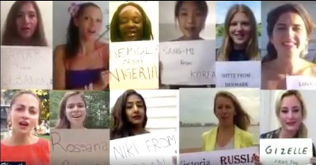Video: Women From Around the World Sing Moroccan Anthem