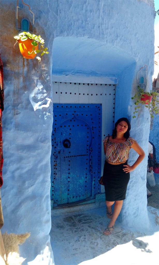 Zineb Boujrada/ Yes, I am aMoroccan Female and I Backpack and Hitchhike Solo