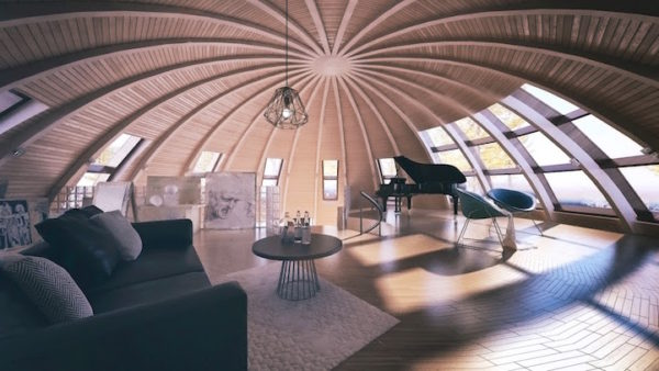 Admirable A Moroccan Startup Launches Dome Shaped Ecological Homes Interior Design Ideas Gentotryabchikinfo