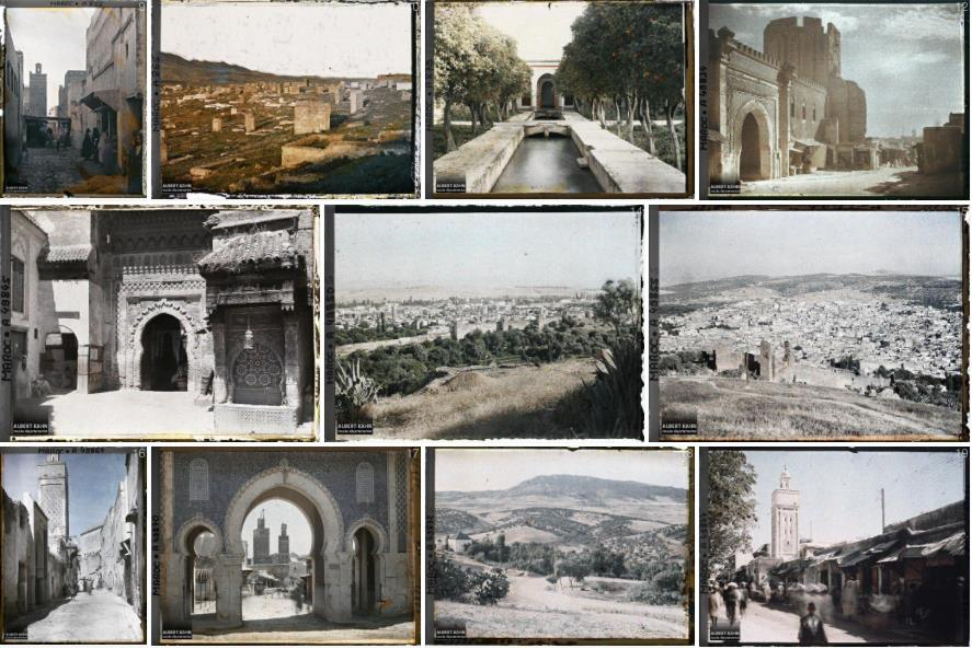 Fez, in the early 1900s