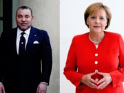 German Chancellor, Angela Merkel and King Mohammed VI