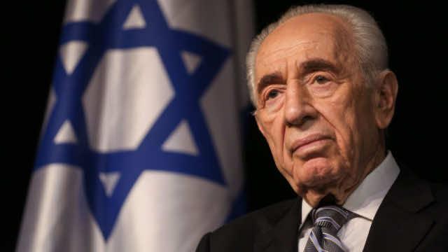 Israeli former President Shimon Peres