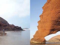 Legzira Beach Archway Collapses
