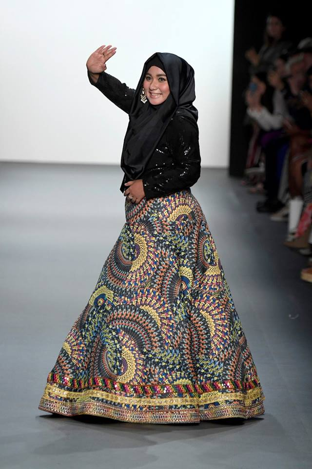 Muslim Designer Present First Hijab Collection at New York Fashion Week
