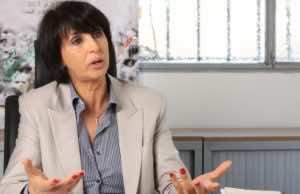 Nabila Mounib, the Secretary-General of the United Socialist Party (PSU)