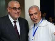 PJD'S Vice Secretary-General Suleiman al-Omrani (R)