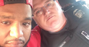 Police Officer's Generosity, Gives Grieving Black Man a New Outlook