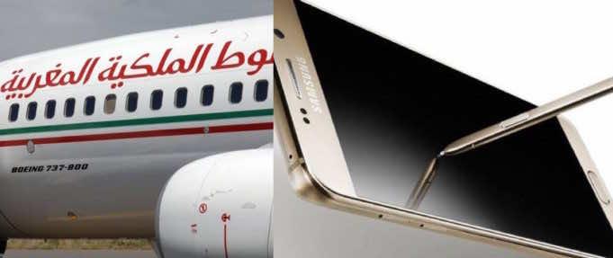 Royal Air Maroc Bans Samsung Galaxy Note 7 on Its Flights