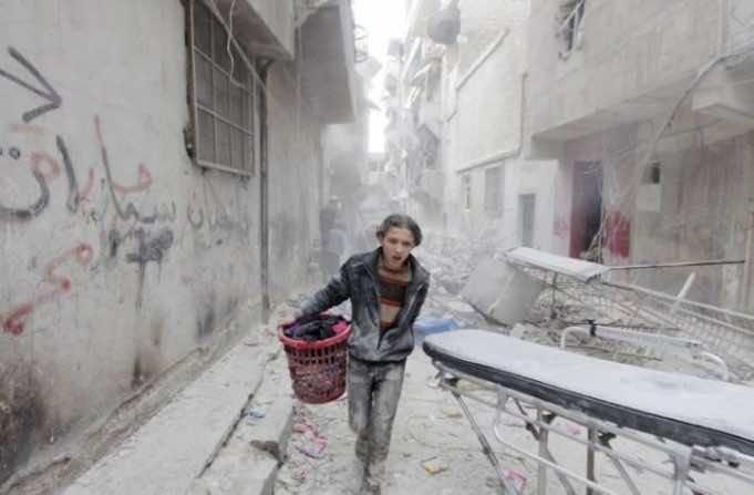 Saudi Scholars Denounce Massacre in Aleppo