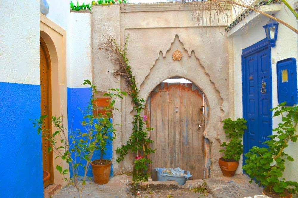 The Kasbah of Oudaya in Rabat. Photo by Jack Stanovsek
