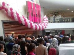 The opening of TATI in Morocco Mall