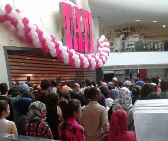 The opening of TATI in Morocco Mall