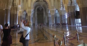 Tourism in Morocco. Hassan II Mosque in Casablanca