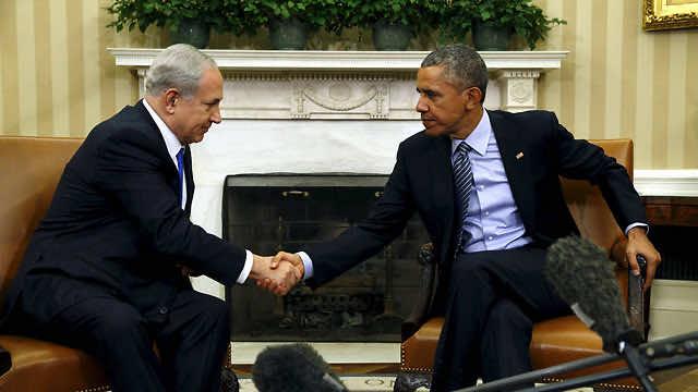U.S. President, Barack Obama, and Israeli Prime Minister, Benjamin Netanyahu