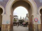 Fez gate Boujloud. Bab Boujloud