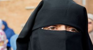 the face veil, known as the niqab