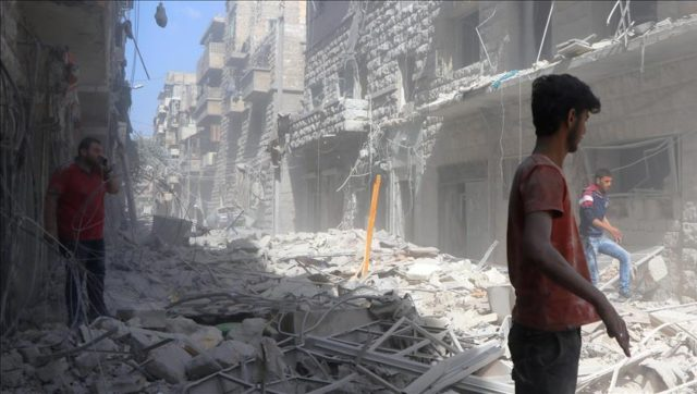 Airstrikes Kill at Least 12 Civilians in Aleppo