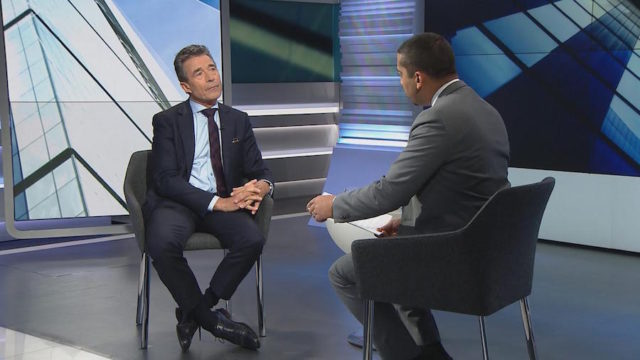 Anders Fogh Rasmussen, the former head of NATO and former Danish prime minister