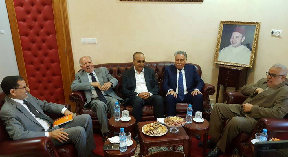 benkirane-meets-party-leaders-to-form-coalition-government