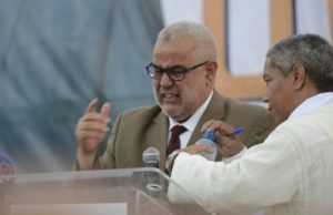 Benkirane Overcome with Tears During Taroudant Political Rally